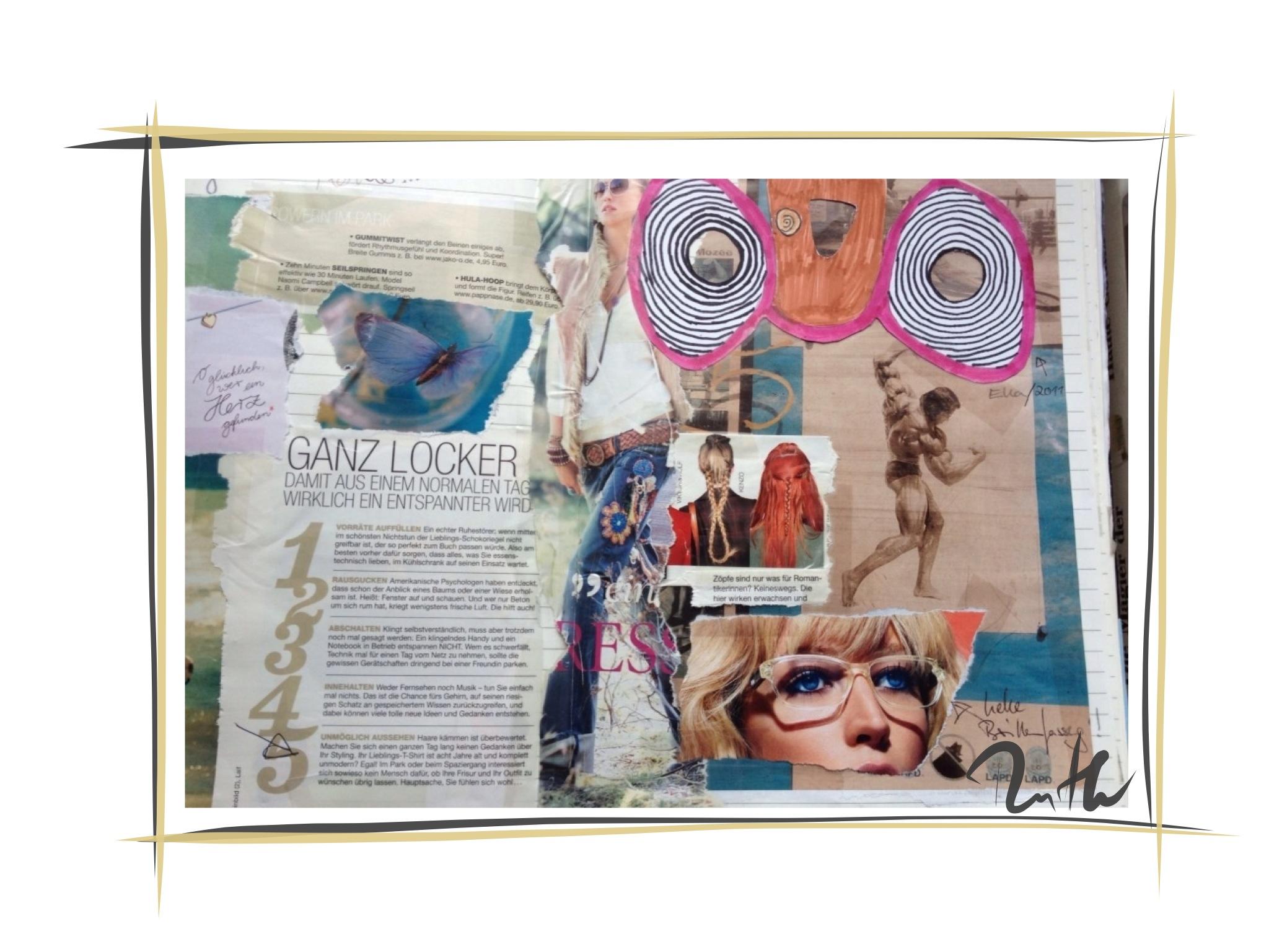 Collage Ein Bild Sagt Mehr Als Tausend Worte Ruth Dotzer